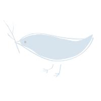 Bird translucent watermark